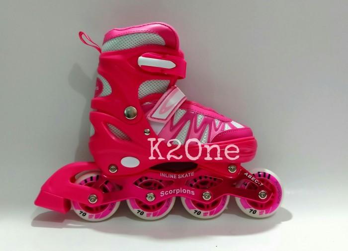 harga Sepatu roda anak scorpions ban karet murah Tokopedia.com