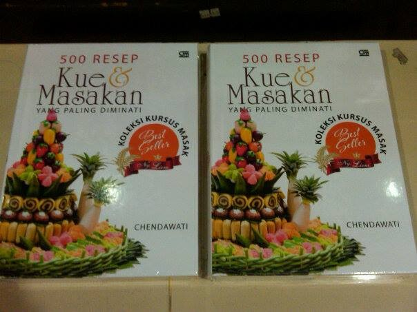 harga 500 resep kue & masakan yang paling diminati koleksi -chendawati Tokopedia.com