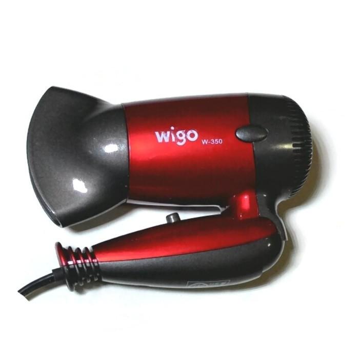 HAIRDRYER WIGO MINI W-350 TRAVEL / HAIR DRYER MINI WIGO MERAH Murah
