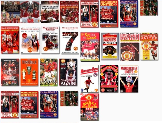 harga Dvd divx manchester united season review / full match / videos Tokopedia.com
