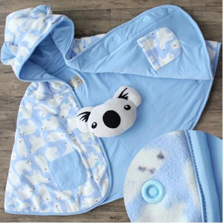 Baby Cape Cuddle Me/Selimut Bayi /Jacket Bayi /Mantel Bayi