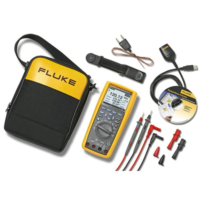 harga Fluke 289 fvf flukeview forms kit logging meter multimeter multitester Tokopedia.com