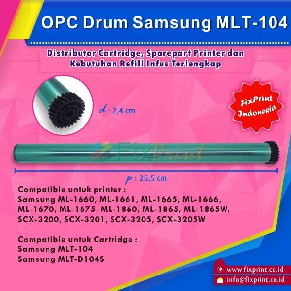 harga Opc drum mlt-104 mlt-d104s mlt-d1042s printer samsung Tokopedia.com