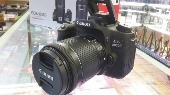 harga Kamera canon eos 8000d dobble lens kit 18-55 is stm & 55-250 is stm Tokopedia.com