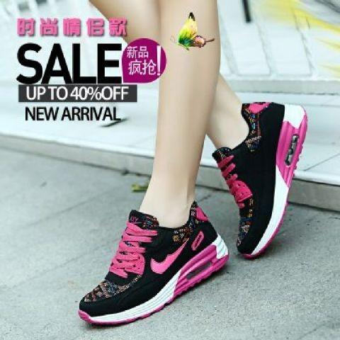 harga Sepatu Nike Airmax Etnik Hitam Pink Tokopedia.com