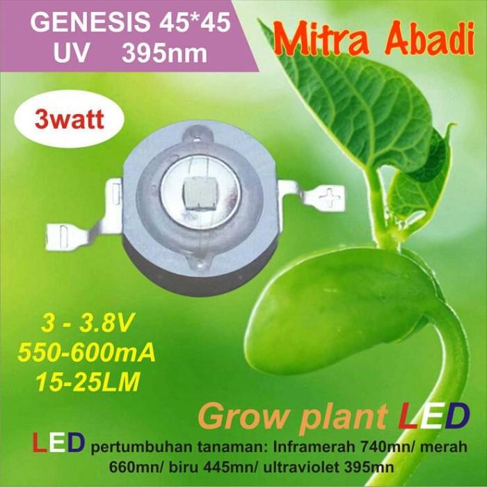 HPL 3 Watt UV Genesis GROW PLANT 395 NM 550-600 mA High Power LED