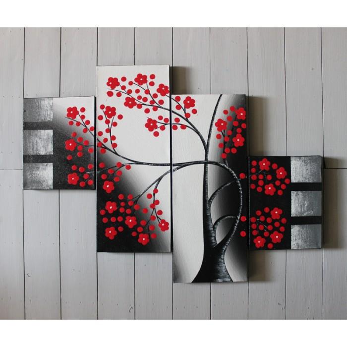 harga Sakura dekoratif - lukisan Tokopedia.com