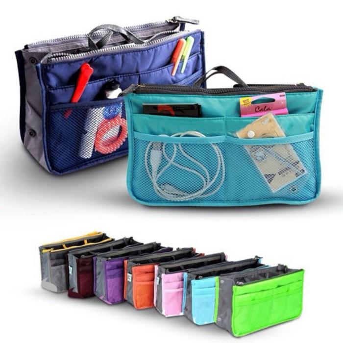 3832b78989d Korean Dual Bag In Bag Organizer / Tas Organizer / Tas Korea - Maroon