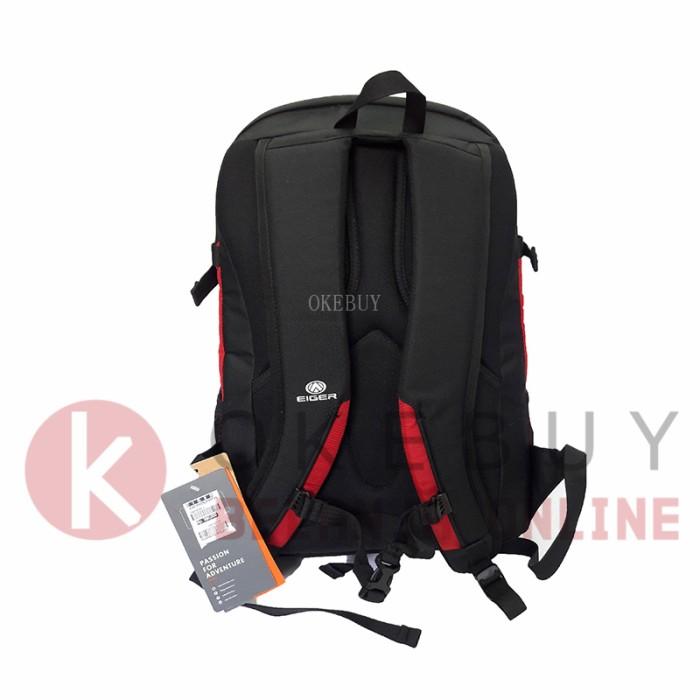 Tas Ransel/ Daypack/ Sekolah/ Kuliah/ Laptop Eiger 2447 - Black Red