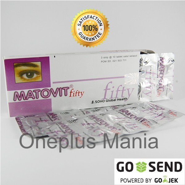 harga Matovit fifty (suplemen untuk kesehatan mata) Tokopedia.com