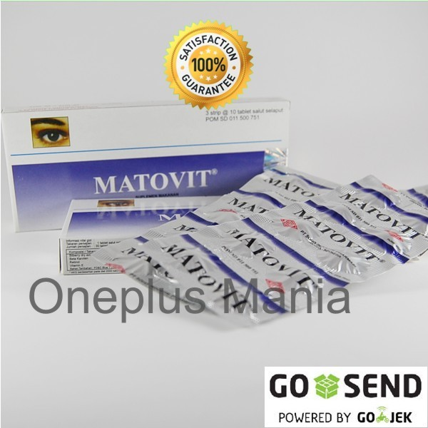 harga Matovit (suplemen untuk memelihara kesehatan mata) Tokopedia.com