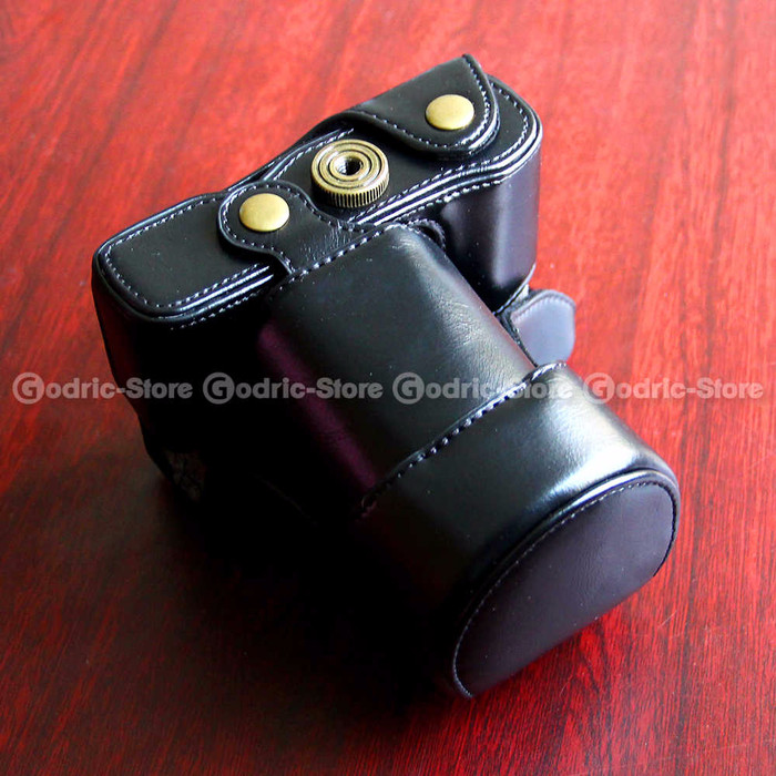 Fujifilm X-A2/X-A1/X-M1 Leather Bag/Case