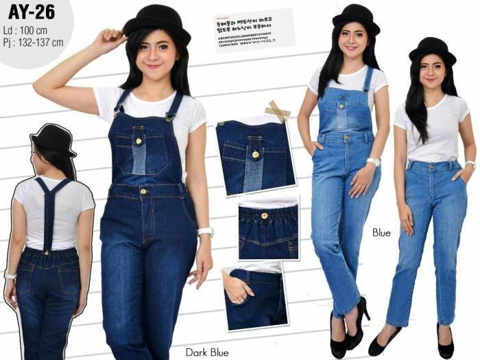 harga Celana kodok bahan jeans bagian atas nya bisa di buka(ay-26) Tokopedia.com