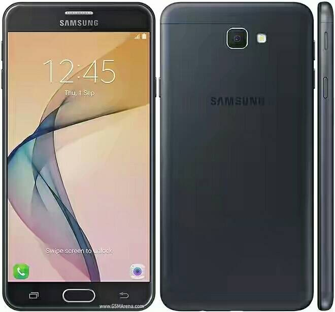 Samsung Galaxy J7 PRIME Black Edition fingerprint - Hitam