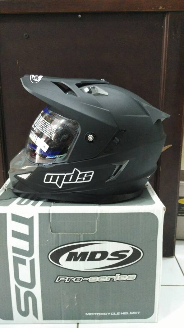 harga Helm mds super pro superpro full face visor cross trail Tokopedia.com