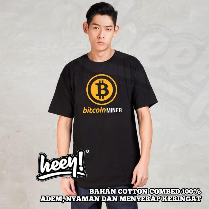 harga Kaos bitcoin miner warna logo gold terbaru Tokopedia.com