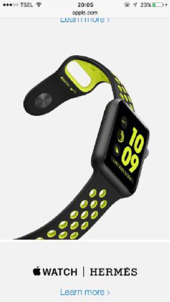 Jual Jam Tangan Apple Watch Seri 2 NIKE