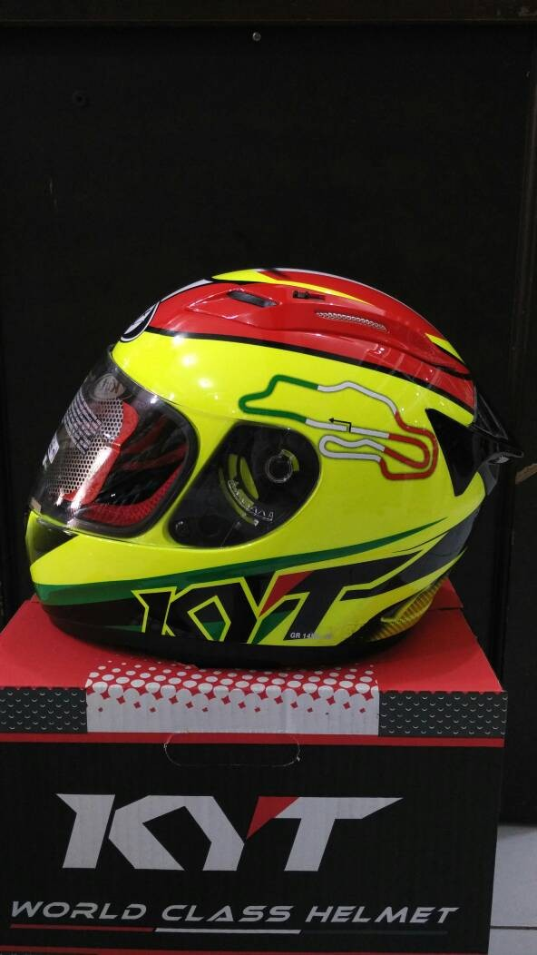 harga Helm kyt rc seven rc7 circuit spain fullface full original Tokopedia.com