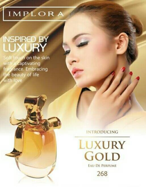 Jual Implora Luxury Gold Parfum Original Kota Bekasi Bisniskuon