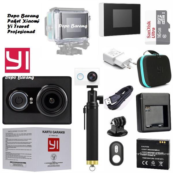 Jual Complete Lengkap Xiomi Kamera Gopro Xiaomi Yi Basic Travel Free Waterp Mamisandoro Tokopedia