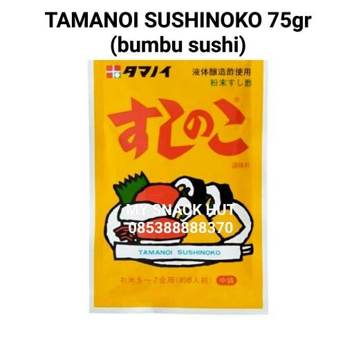 harga Tamanoi Sushinoko Bumbu Cuka&garam Bubuk Nasi Sushi Rice Mix Seasoning Tokopedia.com