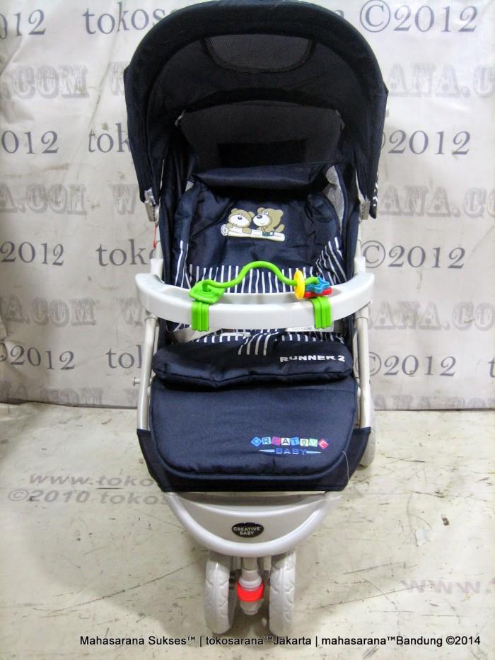 harga Kereta bayi creative baby runner-2 new born-3 thn roda 3 stroller 328 Tokopedia.com