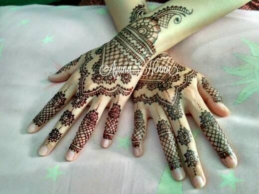 Jual Jasa Henna Art Pengantin Ayuna Henna Art Tokopedia