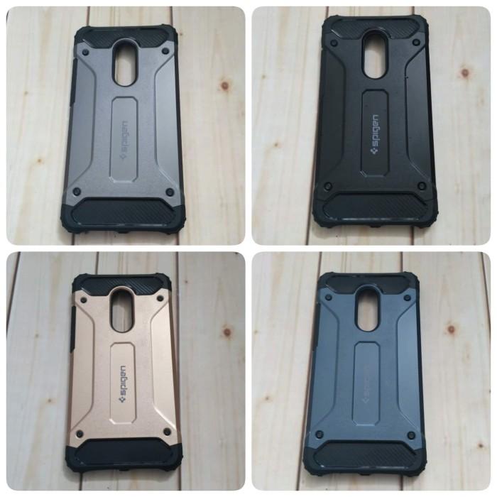 on sale c6d5a e3cec Jual Spigen Armor Xiaomi Redmi Note 4 Casing Hard Back Case Tough Armor -  mama ayla | Tokopedia