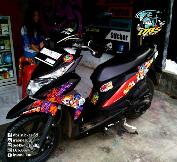 950 Koleksi Gambar Cutting Sticker Motor Beat HD Terbaru