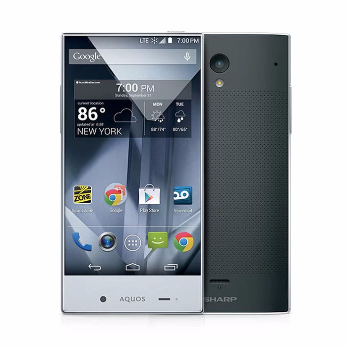 Sharp Aquos Crystal SH825WI - 8GB - Hitam