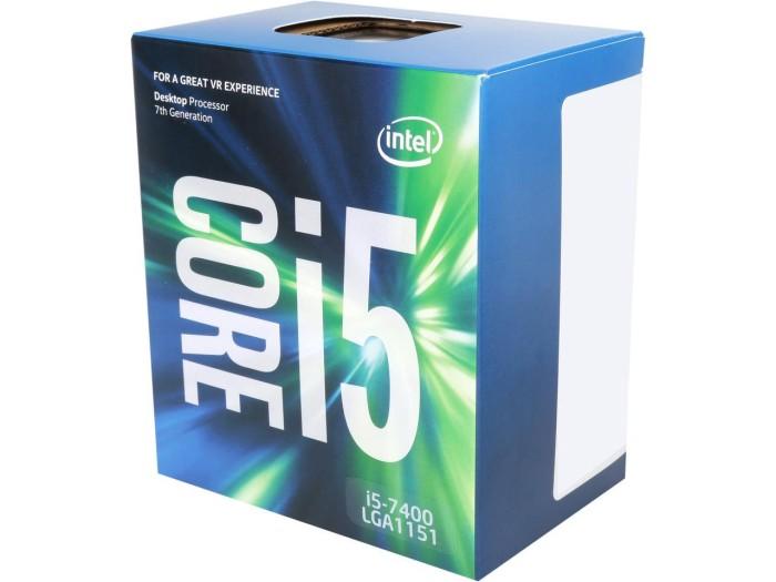 Foto Produk Intel Core i5-7400 BOX 3.0Ghz - KabyLake Socket 1151 dari toko expert komputer