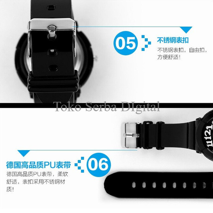 SKMEI Casio Women Sport LED Watch Water Resistant 50m - AD1020. Category : Fashion Wanita