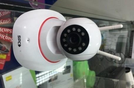 harga Cctv camera wifi 1.3mp mini spc wireless hd monitor anak dan rumah Tokopedia.com