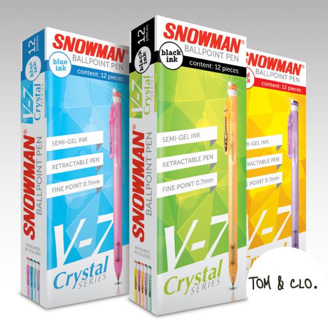 harga Pulpen snowman v7 1 pak Tokopedia.com