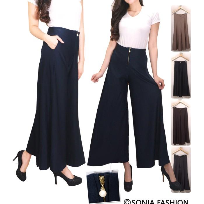Foto Produk Celana Kulot Posey / Celana Panjang Wanita / Long Pants / Cullotes dari Sonia Garment