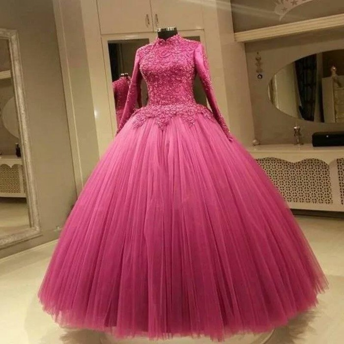 37b04f589e Jual baju pengantin berhijab wedding dress mewah gaun pengantin baru ...