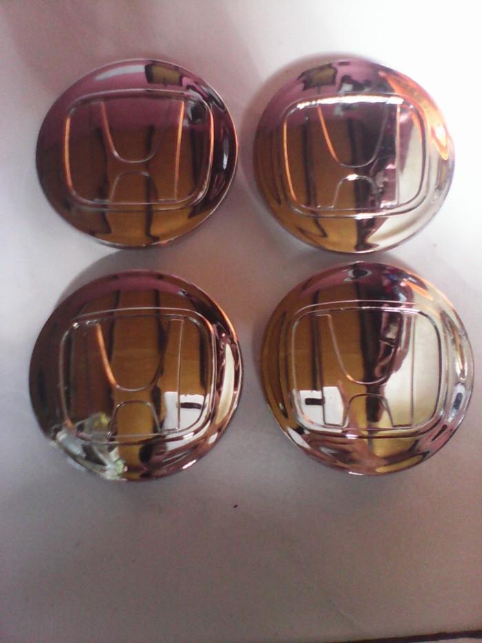 harga Dop center honda 7cm full chrome/tutup velg Tokopedia.com