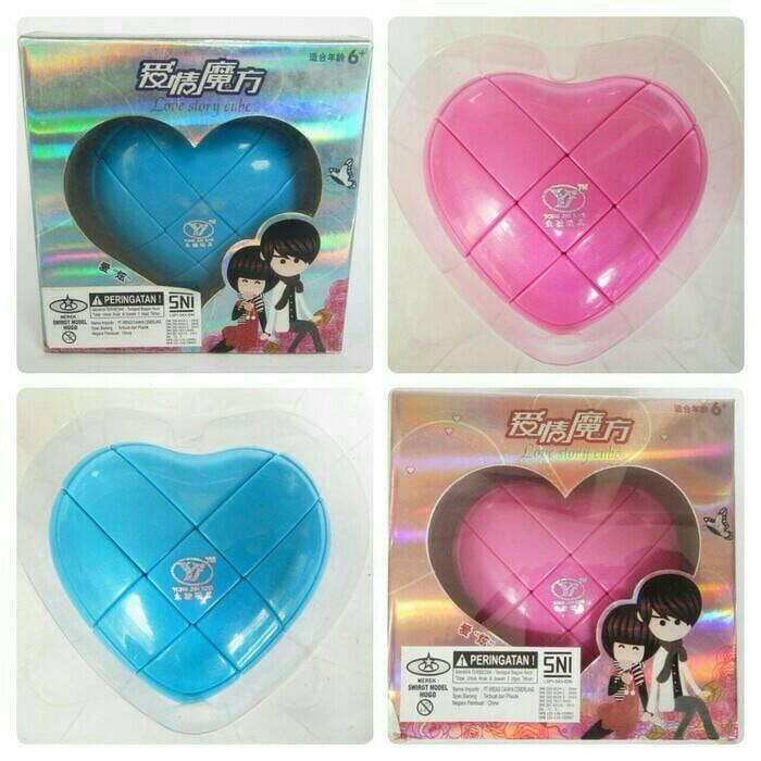 harga Rubik yong jung love story cube Tokopedia.com