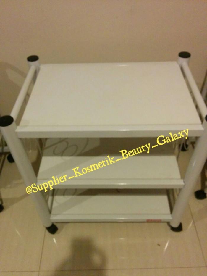 harga Rak facial/rak salon/rak dorong/rak beauty/troli/trolley/troly 3 susun Tokopedia.com