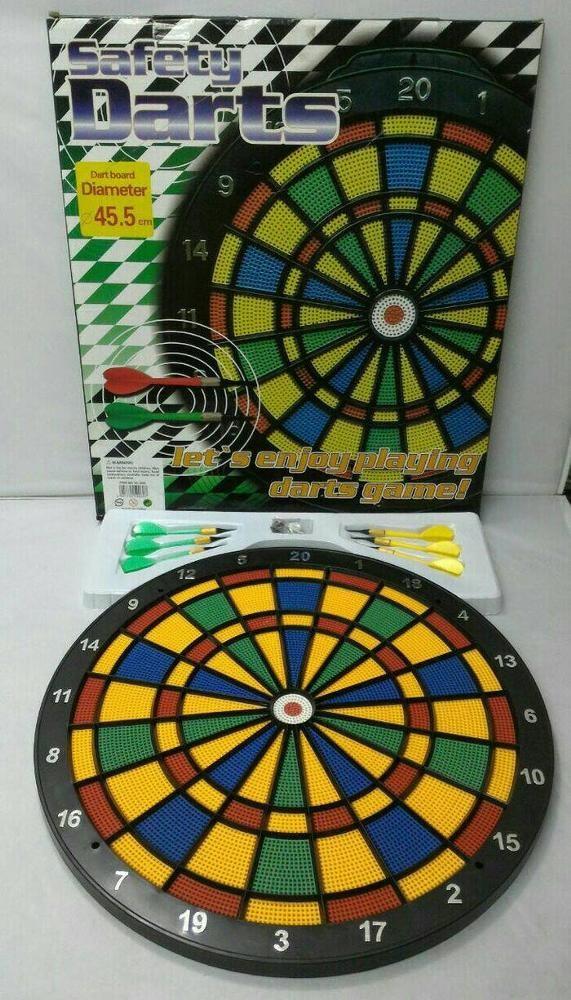 harga Safety darts board 45cm Tokopedia.com