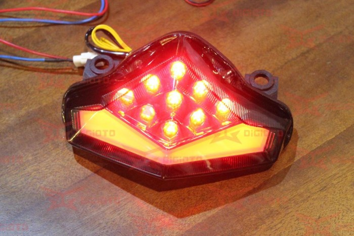 harga Stoplamp 3in1 Led ( Sign Integrated ) Kawasaki Er6f Er6n Tokopedia.com