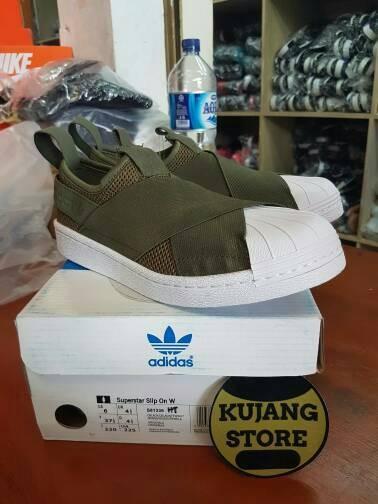 Jual SEPATU ADIDAS SUPERSTAR SLIP ON ORIGINAL BNIB Kota Bandung Grosir Sepatu OC | Tokopedia