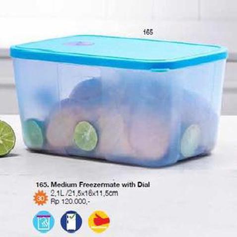 MEDIUM FREEZERMATE WITH DIAL Wadah Kulkas Toples TUPPERWARE Freezer