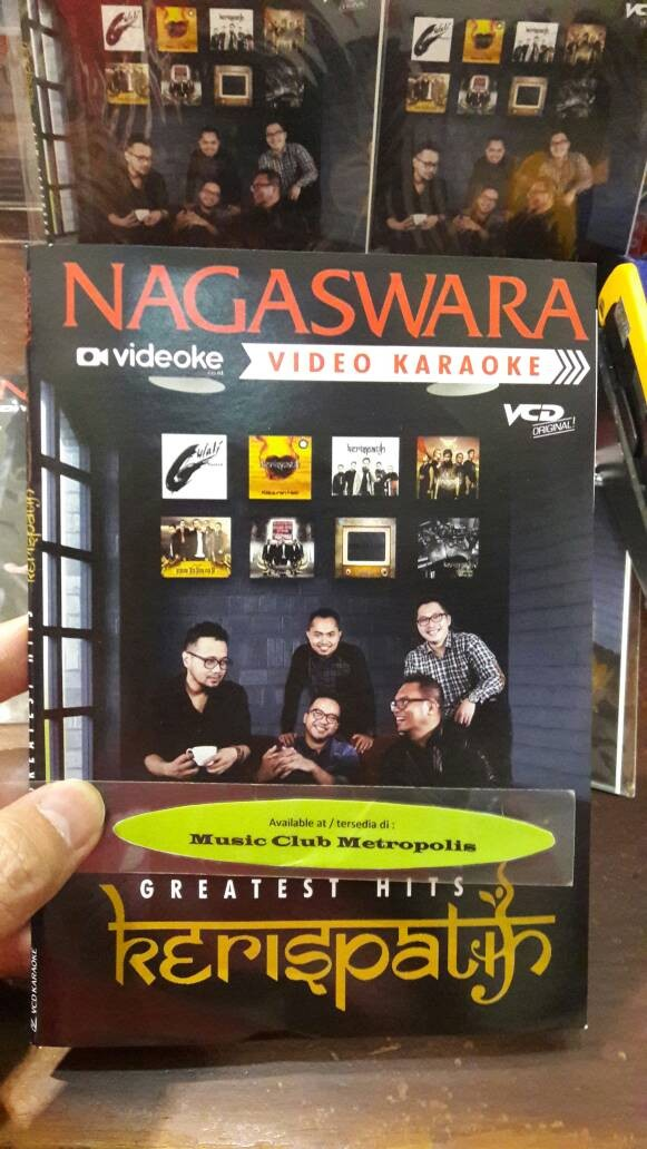 harga Vcd karaoke kerispatih - greatest hits (2017) Tokopedia.com