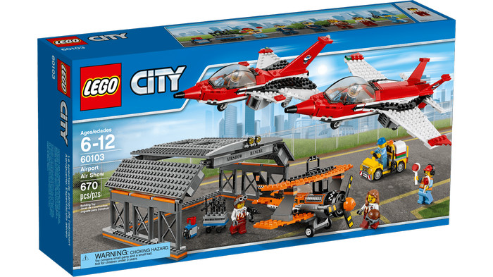 harga Lego city 60103 airport air show Tokopedia.com