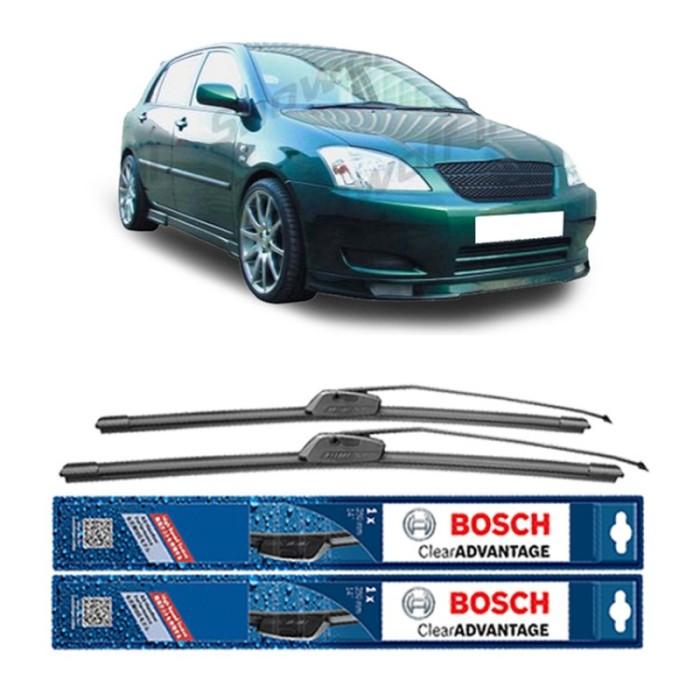 Jual Bosch Wiper Frameless New Clear Advantage Corolla Altis E12 24  & 16  Harga Promo Terbaru