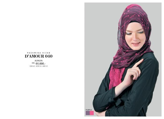 Foto Produk Hijab Harian Kerudung Simple Jilbab Ori Pashmina Tatuis D'amour DA 040 dari SitusBelanjaku