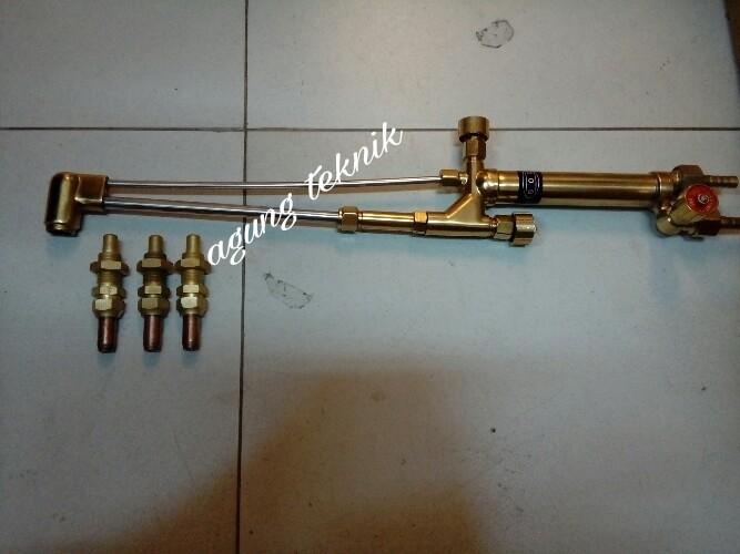 harga Blender potong / cutting torch gagang las potong type m + 3 nozzle lpg Tokopedia.com
