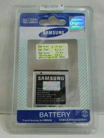 harga Ori 100%..... samsung galaxy star duos 5282 battery baterai batre Tokopedia.com