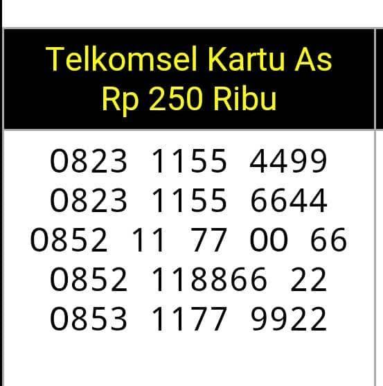 Katalog Nomor Cantik Telkomsel Abcd DaftarHarga.